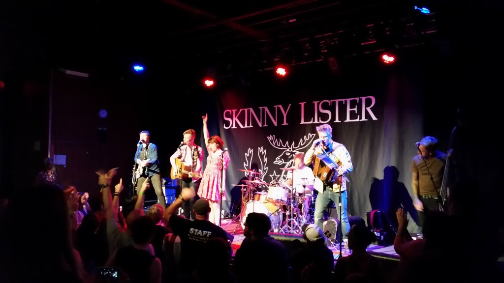 Skinny Lister at The Social, March 23 1996, Pic 1